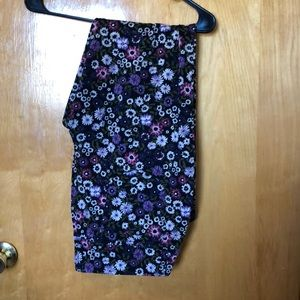 Faded Glory Floral Jeggings